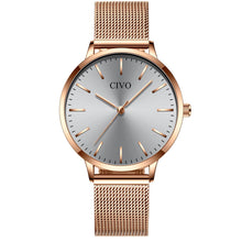 Load image into Gallery viewer, 8060C | Quartz Women Watch | Mesh Band