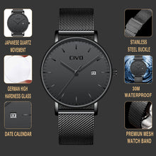 Load image into Gallery viewer, 8029C | Quartz Men Watch | Mesh Band