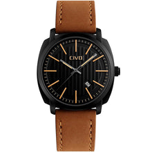 Load image into Gallery viewer, 9169C | Quartz Men Watch | Leather Band