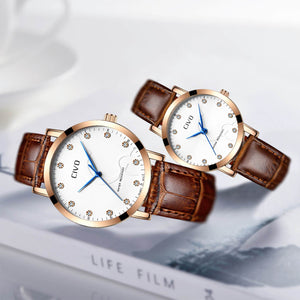 2047C | Quartz Women Watch | Leather Band