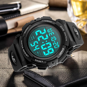 1258C | Quartz Men Watch | Rubber Band