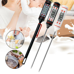 Digital BBQ Meat Thermometer Thermometer Electronic Cooking Food Thermometer Probe Water Milk Kitchen Oven Thermometer Tools#3