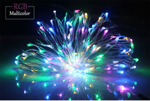 1-10M holiday Led christmas lights outdoor Waterproof led string lights decoration for party holiday wedding Garland