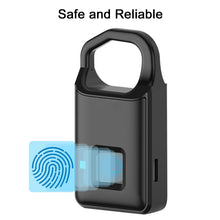 Load image into Gallery viewer, Fingerprint Lock Inteligent Lock Home Luggage Dormitory Locker Outdoor Waterproof Anti-Theft Security Keyless Electronic Padlock