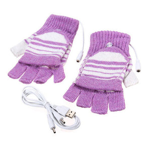 Electric Heating Gloves Winter Thermal USB Heated Gloves Electric Heating Glove Heated Gloves by Distorris