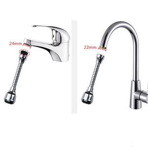 Wlieyee Modes 360 Rotatable Bubbler Water Saving High Pressure Nozzle Filter Tap Adapter Faucet Extender Bathroom Kitchen Accessories