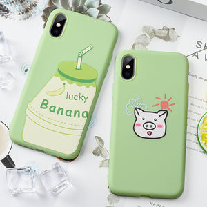 Smartphone Case For iPhone 11 Pro XS MAX Pattern Ultra Thin Soft Silicone Cover etui For iPhone 11 Pro MAX 11 XR X 7 8 6 6s Plus by INASCEDION