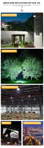 Wiouhui Led Floodlight 50W Waterproof IP65 Garden Lamp Outdoor LED Reflector Light AC 220V 240V Spotlight Street Lighting