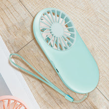 Load image into Gallery viewer, Handheld Fan Mini Pocket Usb Charge Fan Outdoor Personal Handheld Portable Small Electric Fan Portable Fan Usb Rechargeablec