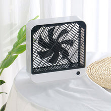 Load image into Gallery viewer, Desktop Square Fan Electric Fan Folding Telescopic Floor Fan Desktop Fan Desktop Air Conditioner Cooler