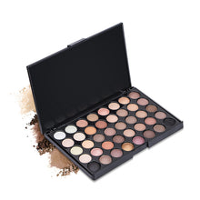 Load image into Gallery viewer, Uocasi 40 Colors Matte Shimmer Eyeshadow Palette Smoky Pigment Long Lasting Makeup Palette Glitter Eye Shadow Pallete Cosmetics