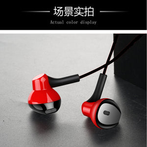 Newest Super Bass Stereo Universal 3.5mm In-Ear Earphone Sport 3 Color Headset With Headphone For Iphone For Cellphone