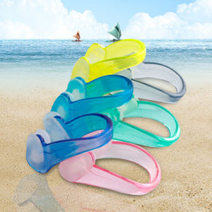 Paulen 1PCS Unisex Swimming Nose Clip Soft Silicone Nose Clips Waterproof Nose Clip for Children Adults Water Sports Pool Accessories