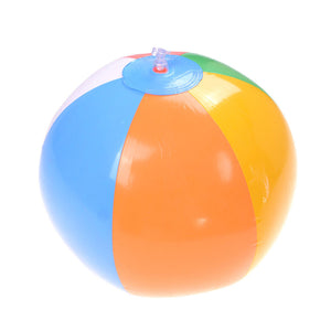 23cm Inflatable Colored Beach Sport Ball Balloons Swimming Pool Play Party Water Game Balloons Ball Kids Fun Toys by Untimid