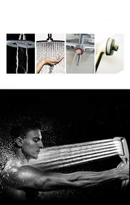 High Quality Pressure Rainfall Shower Head 300 Holes Shower Head Water Saving Filter Spray Nozzle High Pressure Water Saving