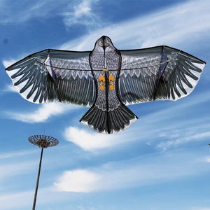 180cm Large Eagle Kite With Kite Hand&line Flying Kites Outdoor Toy For Fun Children Gift Very Good Quality by Inajoke