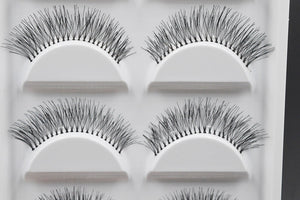 5 Pairs Natural Black Long Sparse Cross False Eyelashes Fake Eye Lashes Extensions Makeup Tools by Tacitmeet