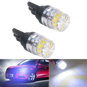 New 2Pcs High Quality Low Power Consumption High Bright T10 5050 5SMD LED Car Vehicle Side Tail Lights Bulbs Lamp White#266636