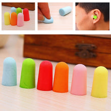 Load image into Gallery viewer, 10 Pairs Comfort Soft Foam Ear Plugs Tapered Travel Sleep Noise Reduction Prevention Earplugs Sound Insulation Ear Protection