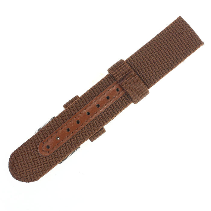 Superior 18/20mm Nylon Wrist Watch Band Strap For Watch Stainless Steel Buckle by Ownalluer