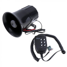 Load image into Gallery viewer, 100W 6 Sound Tone Loud Horn Motorcycle Auto Car Truck Vehicle Speaker Warning Alarm Siren Police Fire Ambulance Horn Loudspeak
