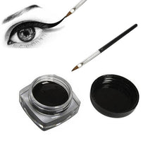 Load image into Gallery viewer, Black Waterproof Eyeliner cream Make Up Beauty Comestics Long-lasting Eye Liner gel Makeup Tools for eyeshadow with brush