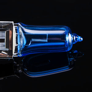 Halogen Bulb 12V 55W 5000K Dark Blue Quartz Glass Car HeadLight Lamp Super White (2 PCS)