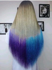 DIY Temporary Wash-Out Dye Hair color coloring style styling Chalk Powdery decorate dressing care Cake accessories tool