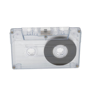 1pcs Standard Cassette Blank Tape 60 Minutes Magnetic Blank Audio Media Recording Cassette Tapes For Speech Music Recording