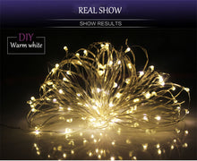 Load image into Gallery viewer, 1-10M holiday Led christmas lights outdoor Waterproof led string lights decoration for party holiday wedding Garland