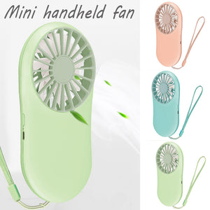Handheld Fan Mini Pocket Usb Charge Fan Outdoor Personal Handheld Portable Small Electric Fan Portable Fan Usb Rechargeablec