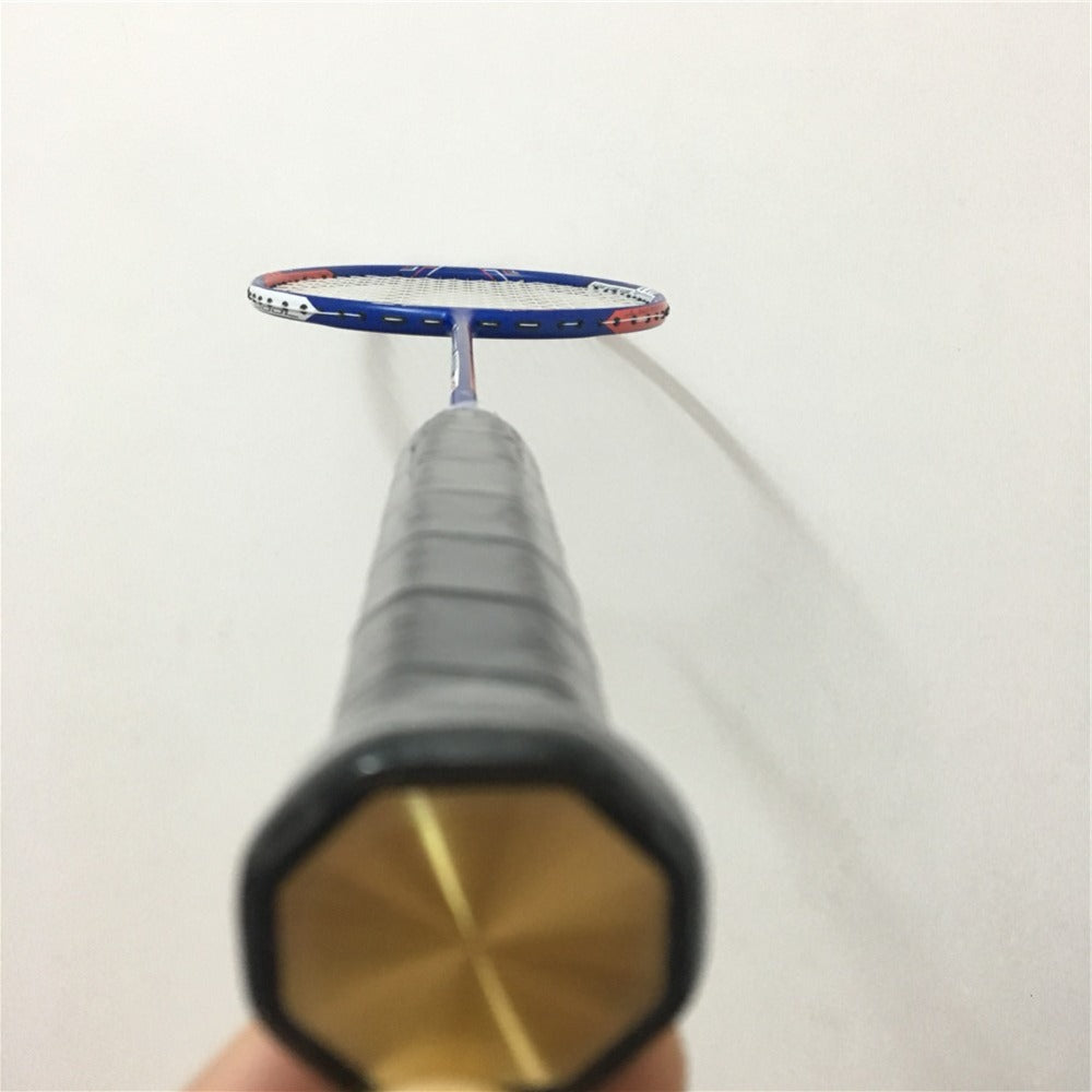 Clearance Badminton racket Z strike prestrung overgrip padel racket defesa pessoal para badminton rackets racket badminton by Skipose