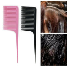 Load image into Gallery viewer, 1PC Profession Dyeing Comb Weave Comb Tail Pro-hair Dyeing Comb Weaving Cutting Combs Hair Brush for Hairdressing Salon