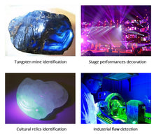 Load image into Gallery viewer, 220V 110V UV light Black Light Blue Fluorescent lamp 6W 8W T5 Tube Ultraviole Detection Violet Lighting Party Xmas Stage lamp