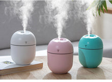 Load image into Gallery viewer, 2020 Ultrasonic Mini Air Humidifier 200ML Aroma Essential Oil Diffuser for Home Car USB Fogger Mist Maker with LED Night Lamp