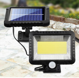 LED Solar Light Motion Sensor Outdoor Recharged Leds Waterproof Solar Garden Lamp For Path Street Outdoor Wall Spotlight