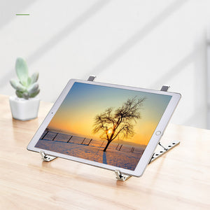 Laptop Stand Holder Folding Viewing Angle/Height Adjustable Bracket for tablet ipad 10-17 inch Notebook pc holder Wholesale