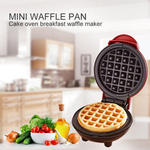 Load image into Gallery viewer, Electric Waffles Maker Bubble Egg Cake Oven Breakfast Waffle Machine Egg Cake Oven Pan Eggette Machine Mini Waffle Pot