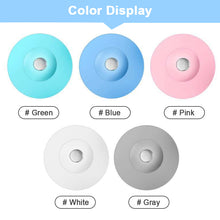Load image into Gallery viewer, Kitchen Rubber Bath Tub Sink Floor Drain Plug Sink Strainer Hair Catcher Water Stopper Tool Laundry Bathroom Bathtub Drain Press
