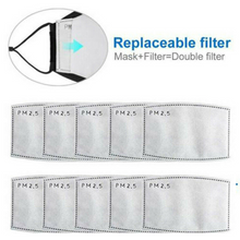 Load image into Gallery viewer, 10 pcs PM 2.5 Filter Pads -Use it in your Face Scarf Mask