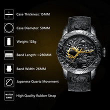 Load image into Gallery viewer, 8041M | Quartz Men Watch | Rubber Band