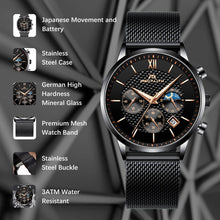 Load image into Gallery viewer, 8025M | Quartz Men Watch | Mesh Band