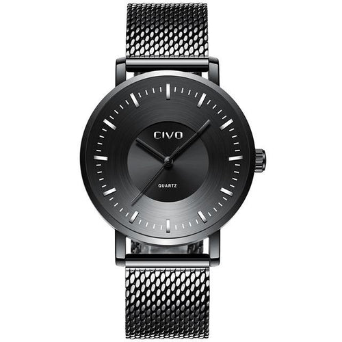 0056C | Quartz Men Watch | Mesh Band