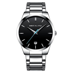 0072M | Quartz Men Watch | Stainless Steel Band