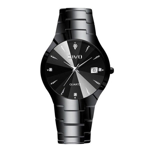 0104C | Quartz Men Watch | Stainless Steel Band