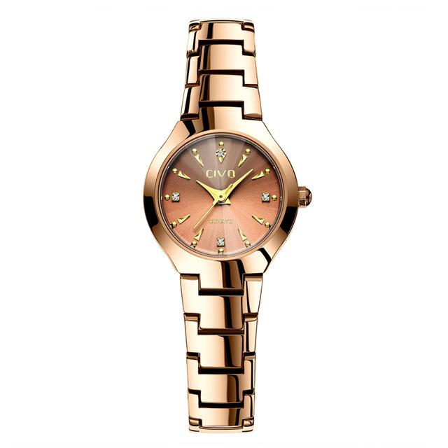 0104C | Quartz Women Watch | Stainless Steel Band