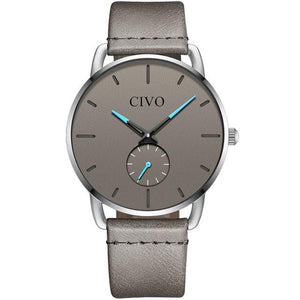 8085C | Quartz Men Watch | Leather Band