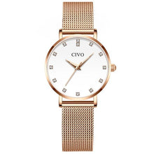 Load image into Gallery viewer, 8055C | Quartz Women Watch | Mesh Band