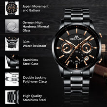Load image into Gallery viewer, 8007M | Quartz Men Watch | Stainless Steel Band