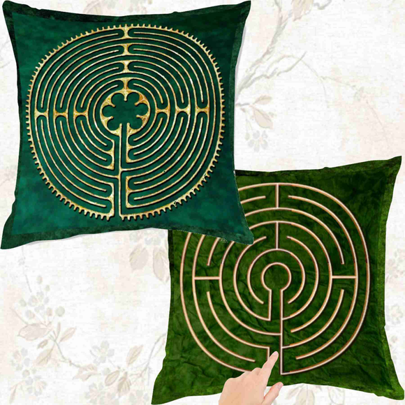 Labyrinth Pillows